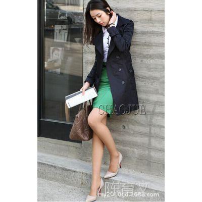 126风衣外套缎纹光泽布料 秋冬服饰面料 150D仿记忆布现货批发