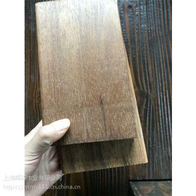 菠萝格防腐木厂家定做印尼菠萝格地板景观材异形加工
