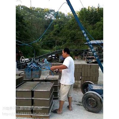 电动空心砖摆砖机空心砖装砖机