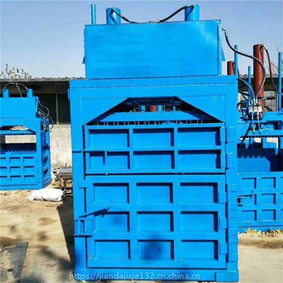 柴油铁桶价格编织袋压包机图片 服装液压打包机