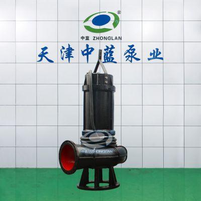 建筑工地用耐阻塞潜水排污泵型号参数