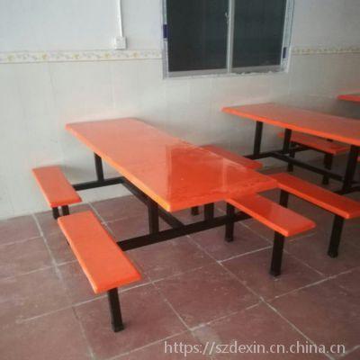 8人玻璃钢餐桌【实体厂家】价格更实惠
