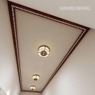 室内吊顶铝天花 发光石膏线 铝梁 代替石膏收边线 顶角线铝合金