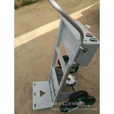 电动手拉瓷砖运输车 电动载物爬楼车视频