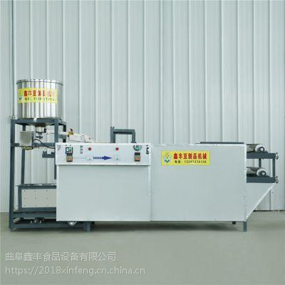 生产干豆腐设备不锈钢自动干豆腐机鑫丰制造