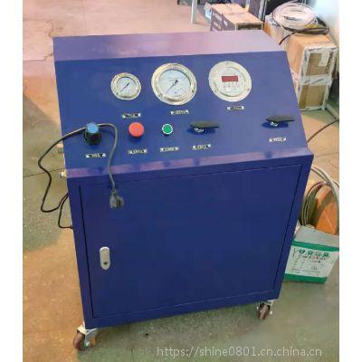 0.5L/1L/2L液态二氧化碳小钢瓶充装设备 一氧化二氮充气机