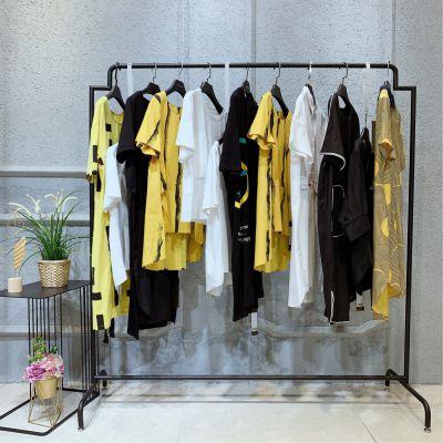 杰西莱夏品牌折扣女装走份品牌折扣尾货批发一线品牌女装折扣欧美少淑连衣裙