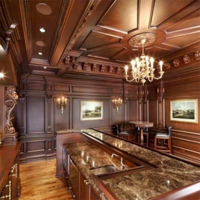 长沙法式原木家具原木酒窖、原木欧式门订制家具美学