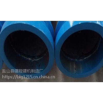 混凝土泵管厂家生产泵车双层泵管,高方量6万方泵管