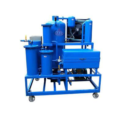 通瑞ZJD-K-10润滑油过滤大量杂质,除酸再生多功能滤油机