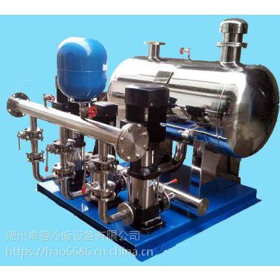 济南 卓智生产 智能无负压供水设备 不锈钢变频供水设备 厂家