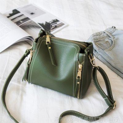女士小包包2017夏季新款韩版手提包单肩女包斜挎包时尚简约百搭潮