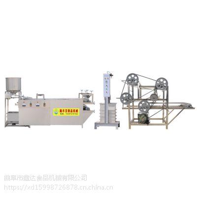 辽宁干豆腐机生产线 大型干豆腐机 仿手工操作