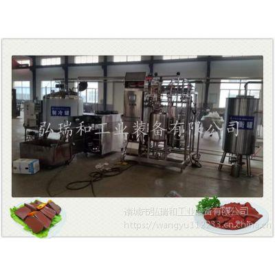 鸭血生产设备|盒装鸭血生产线机器