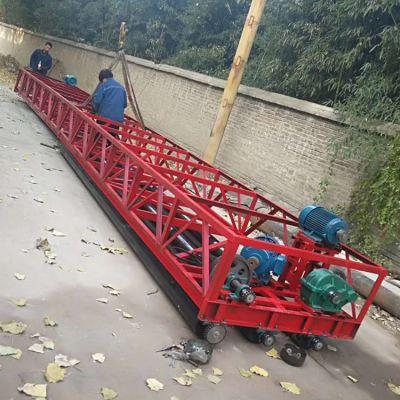 东硕机械可伸缩的桥面隧道滚筒摊铺机 混凝土路面摊铺整平机