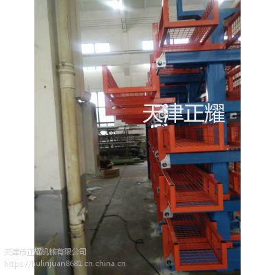 广东圆钢货架 伸缩悬臂式结构存放圆钢 扁钢 方钢