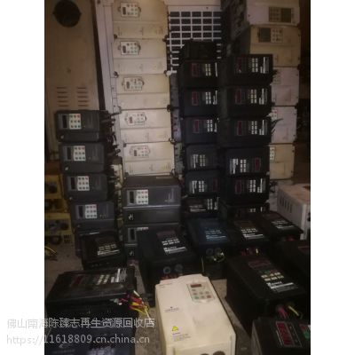 供应回收二手变频器进口国产二手变频器PLC开关电器等工控配件