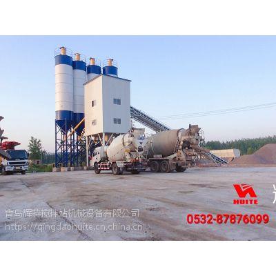 辉特搅混凝土搅拌站HZN120PC搅拌臂采用流线型设计减小阻力提高搅拌率延长寿命