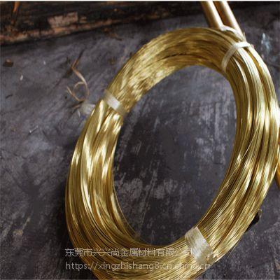 供应H68黄铜线 日本C26800环保铜线 五金加工各种异形铜线材定制