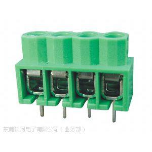 长河 UL、VDE、CB、CE认证166-5.0mm螺钉弹片式PCB接线端子
