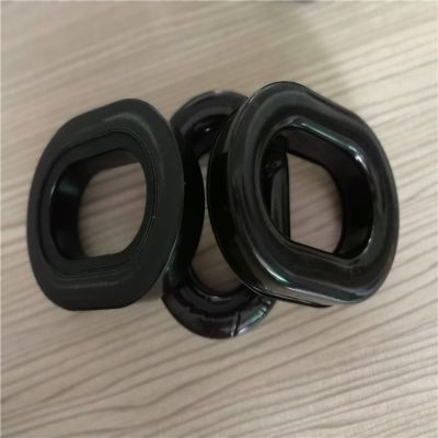 定制硅磷脂吸塑TPU皮耳罩 内加硅胶制成皮耳套来样来图定做