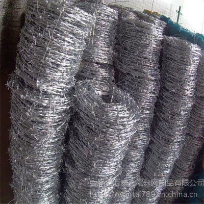 铁蒺藜现货 镀锌刺绳护栏 刀片滚笼图片