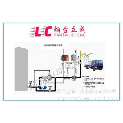 液体定量灌装油罐车计量自控装车设备-立成