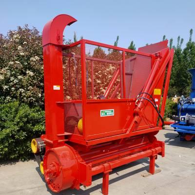 水稻秸秆回收机 圣泰牌粉碎回收机视频 牵引动力