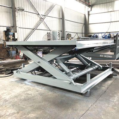 SJG2吨剪叉式升降平台 固定式液压电动升降机生产商