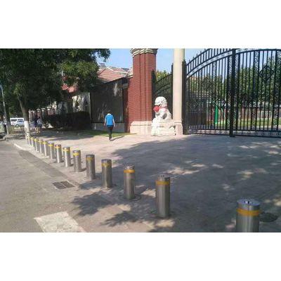 【安徽学校安全防护隔离升降柱】博进安徽核电站阻车升降柱