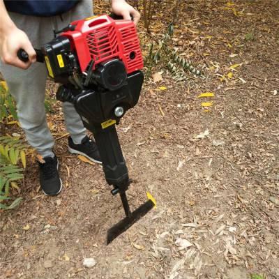 林业链条挖树机 轻便汽油起树机 花圃移苗挖树机价格