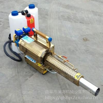 用药省弥漫性好汽油打药机脉冲式农用烟雾机麦田水雾烟雾两用机