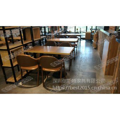 倍斯特简约现代铁艺餐椅创意中餐休闲甜品厂家定制