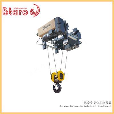 厂家直销欧标电动葫芦 销售百达力欧5吨9m电动钢丝绳葫芦