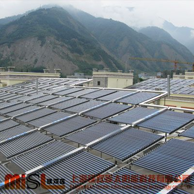 上海太阳能厂家供应太阳能热水工程 全铜热管式太阳能热水器