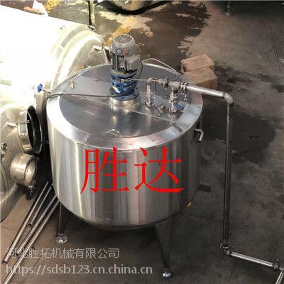肥城市2吨不锈钢发酵罐sd-ytjbg100电动化工搅拌机