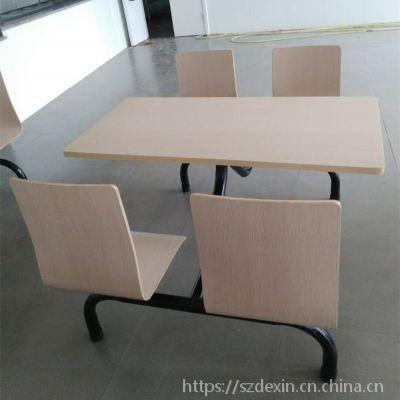 工厂直销4人/6人/8人位饭堂餐桌 欢迎订制