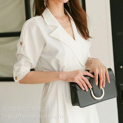 帕佳妮北京市库房尾货批发 n度28女装折扣批发尾货灰色衬衫