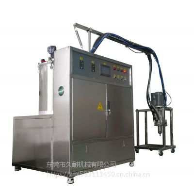 硅胶泡棉生产配套设备 久耐机械新型液态硅胶压延工艺自动混料供料机