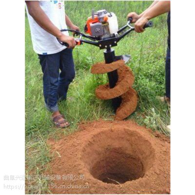 本溪多功能手提式钻坑设备 四冲程钻眼机价格动力强劲有力