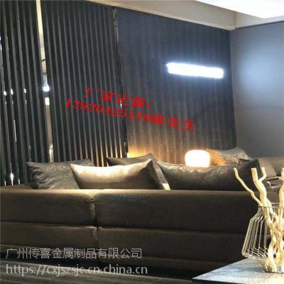 铝方通花式屏风 铝管焊接栅栏 金属装饰材料