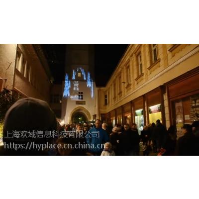 上海广州墙体投影互动装置定制出租