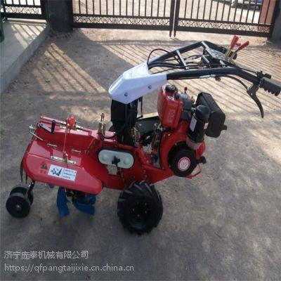 庞泰田园管理机各种土质轻松解决的松土机