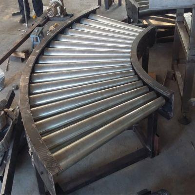 不锈钢网带转弯机食品机械流水线分拣机链板转弯机