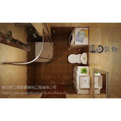 【哈尔滨】'江南装饰'打造观复国际 110平米装修效果图哈尔滨十大装修公司