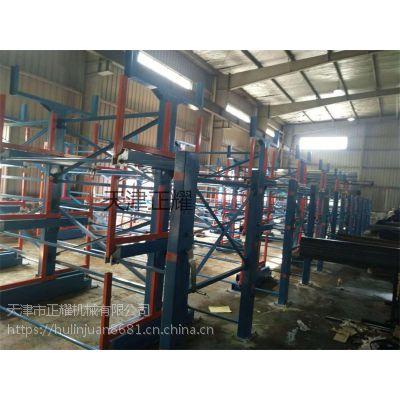 管材案例视频图片12米管材货架 悬臂式钢管重型货架