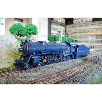 BLI火车模型 5593#5308 HO DC/DCC 数码音效 蒸汽机车