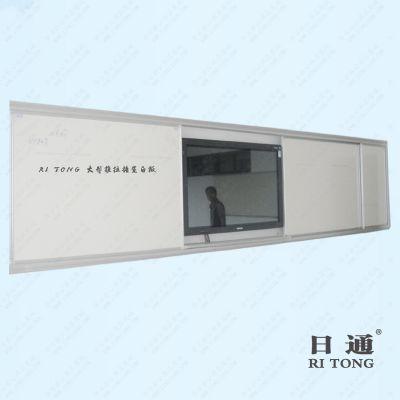 深圳办公磁性写字板批发 磁性推拉白板定制 日通白板活动优惠