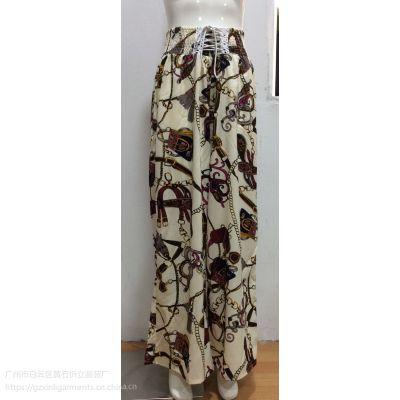 女装长裤 18014