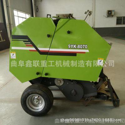 安徽自动捡拾打包机厂家批发价 麦秸捡拾打捆机多大车带